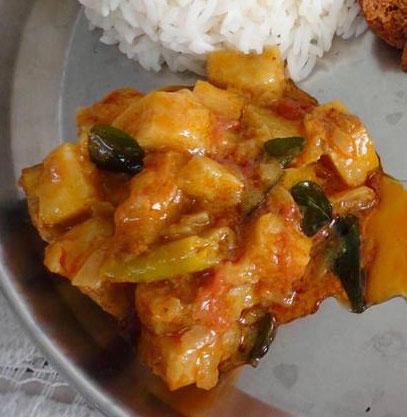 Aratikaya Pulusu Recipe