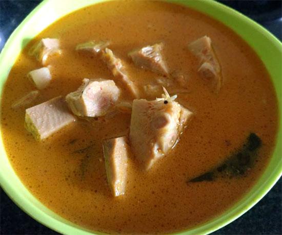Andhra Panasa Pottu Curry