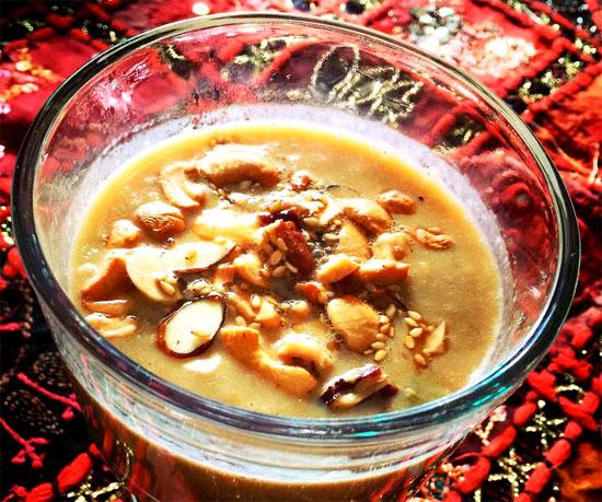 Pesara Pappu Payasam Recipe