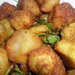Crispy Fried Arbi