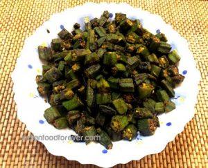 Bhindi Sabji Without Onion Garlic