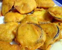 Baigan Pakora, Brinjal Fritter