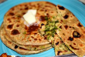 Fenugreek Methi Paratha