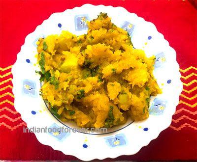 Khatta Meetha Kaddu Recipe