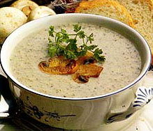 """<strong><a href=""""https://www.indianfoodforever.com/soups/mushroom-soup.html"""">Mushroom Soup</a></strong>"""