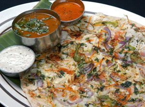 Onion Uttappam