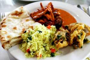 Restaurant Food During Restaurant