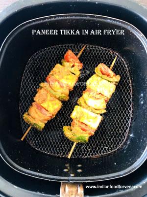 Air Fryer Paneer Tikka