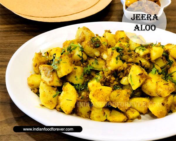 Jeera Aloo Punjabi Style