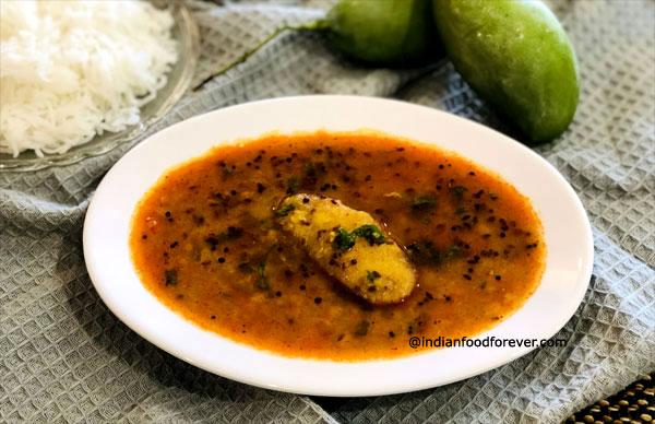 Arhar Dal With Green mango