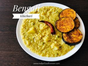 Bengali Khichuri In Pressure Cooker