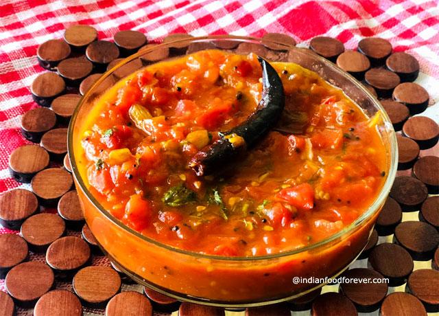 Bengali Tomato Chutney