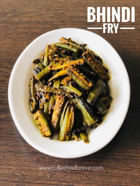 Bhindi Fry Without Onion Garlic