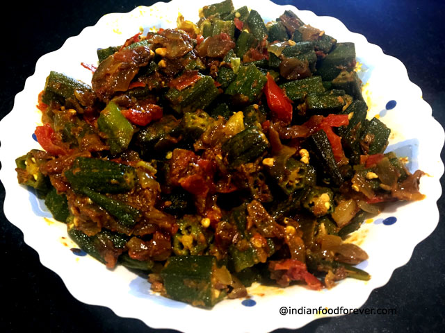 Bhindi Masala For Chapathi Spicy Indian Okra Masala Recipe How To Make Bhindi Masala For Chapathi