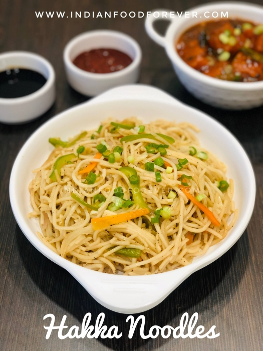 """<strong><a href=""""https://www.indianfoodforever.com/indo-chinese/chinese-veg-hakka-noodles.html"""">Hakka Noodles</a></strong>"""