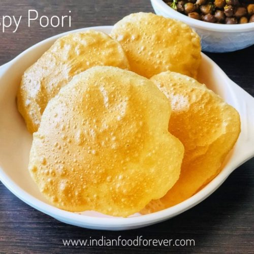 Crispy Poori Recipe