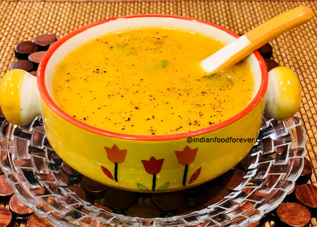 """<strong><a href=""""https://www.indianfoodforever.com/soups/dal-shorba-soup-recipe.html"""">Dal Shorba</a></strong>"""