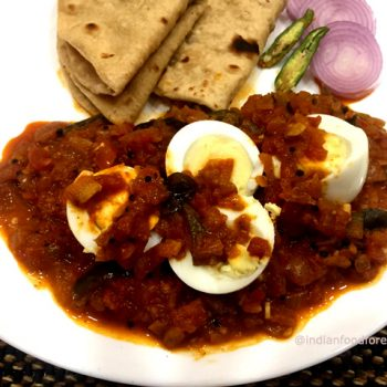 Egg Curry South Indian Style