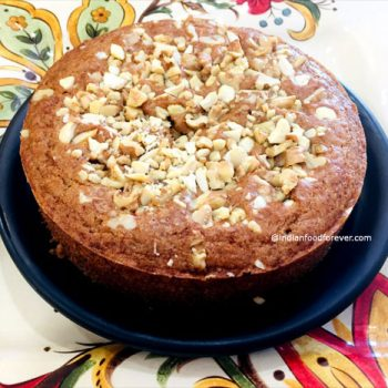 Eggless Chocolate Biscuit Cake