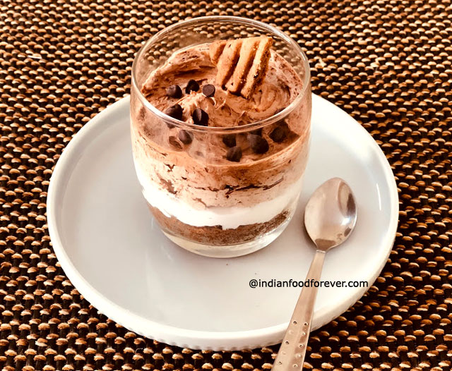 Eggless Chocolate Mousse Without Gelatin