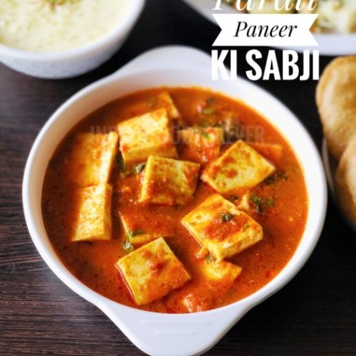 Paneer Sabji Without Onion Garlic