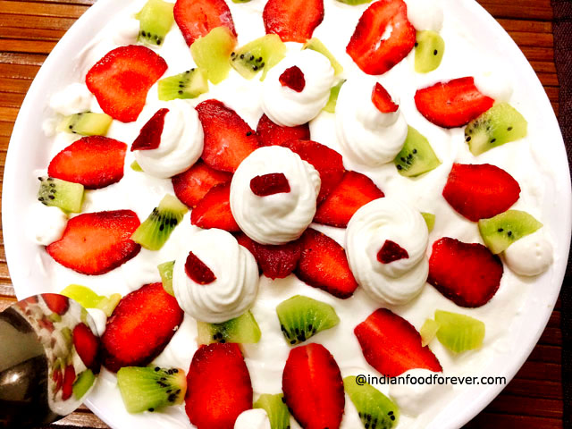 Indian Fruit Cream Recipe