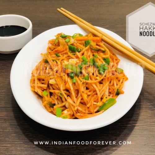Homemade Schezwan Noodles