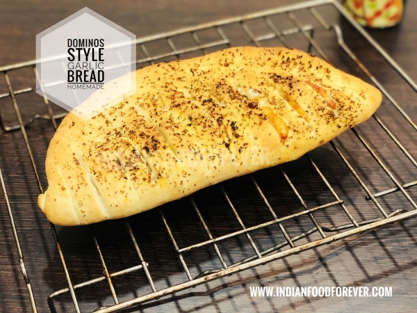 Dominos Style Garlic Bread