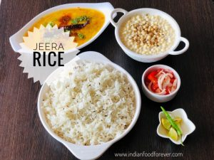 Jeera Rice In English