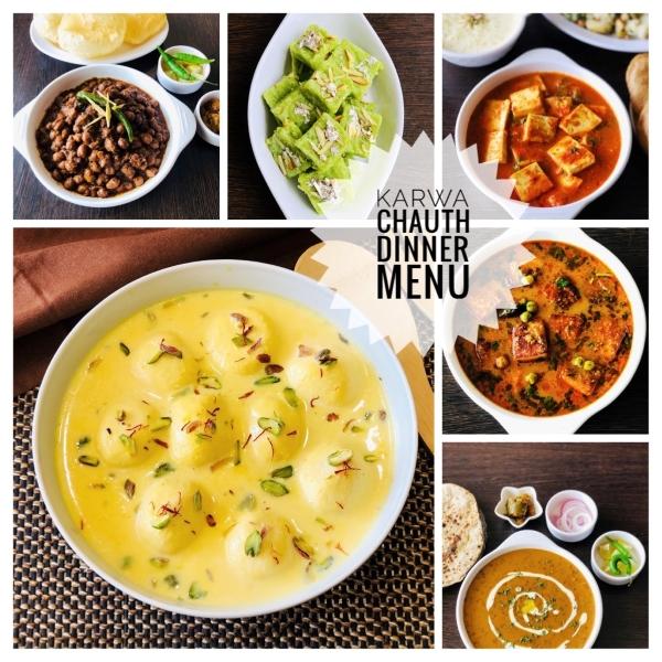 Karwa Chauth Dinner Menu