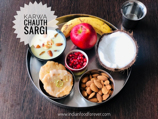 Karwa Chauth Sargi Thali Food Items