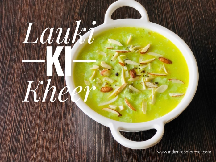 Lauki Ki Kheer For Navratri