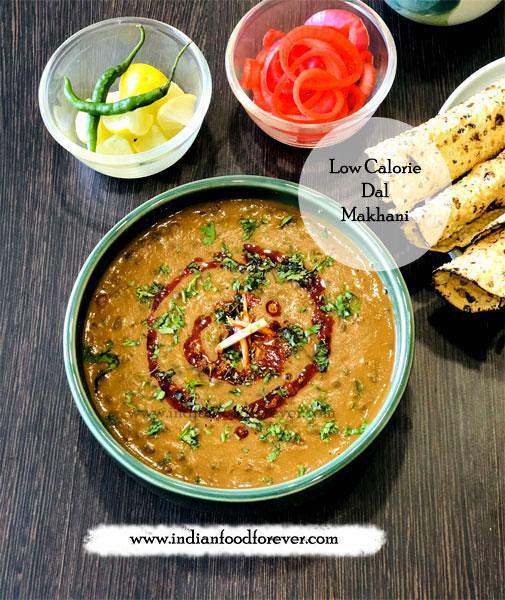 Low Calorie Dal Makhani Recipe