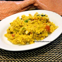 Masala Oats For Weight Loss