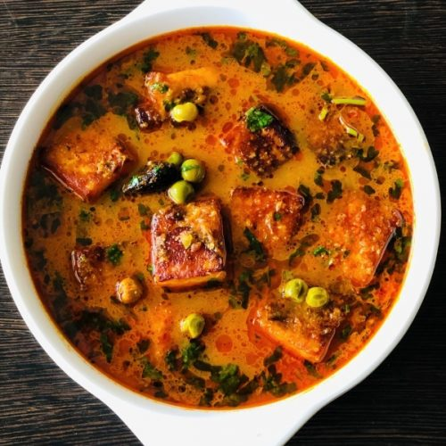 Matar Paneer Without Onion Garlic