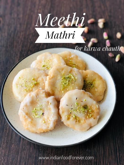 Meethi Mathri For Karwa Chauth
