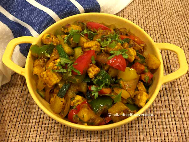 Indian Mix Vegetable Sir Fry