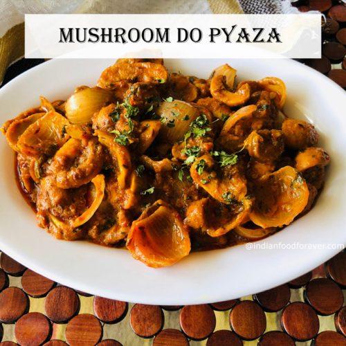 mushroom-do-pyaza