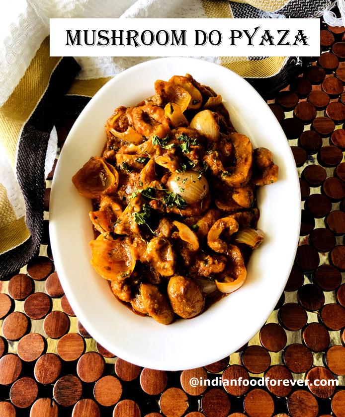 Mushroom Do Pyaza