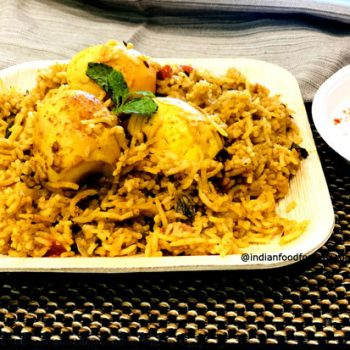 One Pot Egg Biryani