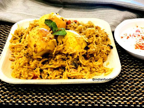 One Pot Egg Biryani