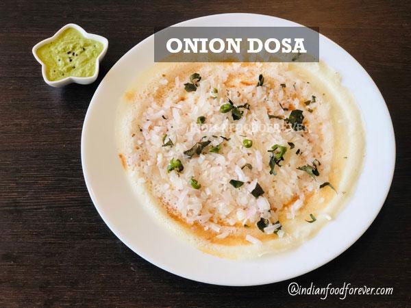 Onion Dosa
