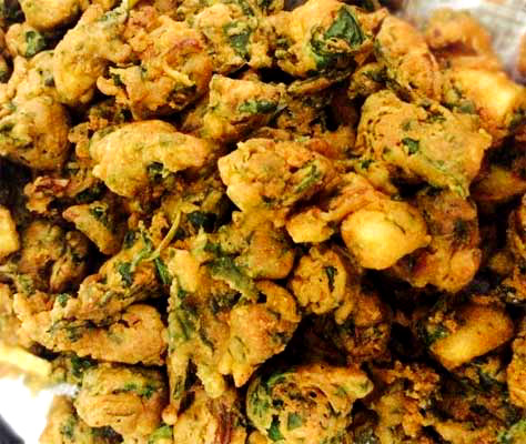 Pakore for holi