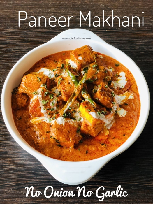"""<strong><a href=""""https://www.indianfoodforever.com/vegetables/paneer-makhani-without-onion-garlic.html"""">Paneer Makhani</a></strong>"""