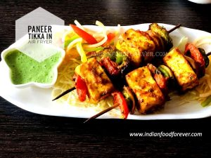 Paneer Tikka In Air Fryer