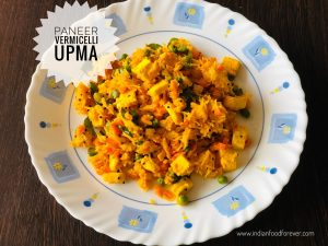 Paneer Vermicelli Upma For Weight Loss