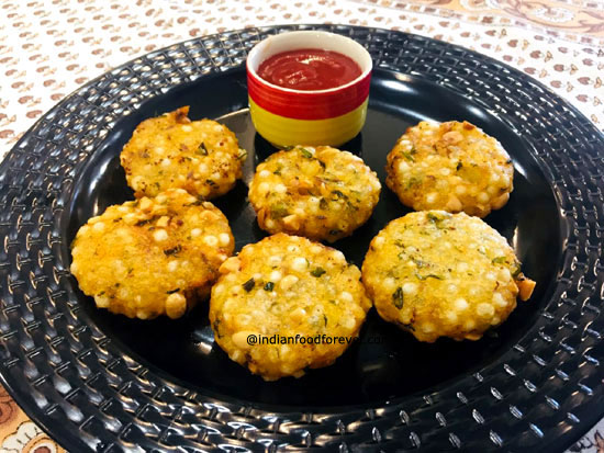 Perfect Sabudana Vada
