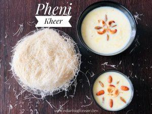 Pheni Kheer Recipe