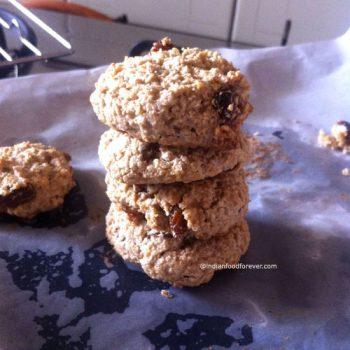 Raisin Oats Cookie