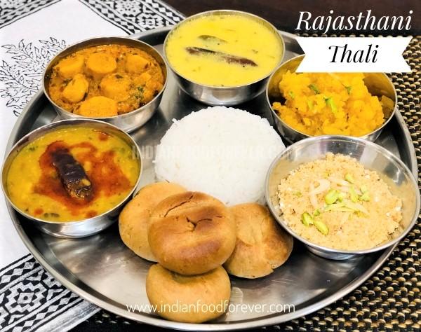 Rajasthani Thali
